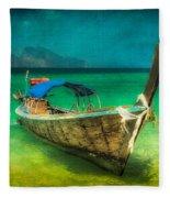 Longboat Thailand Fleece Blanket