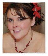 Lovely Rachel Fleece Blanket