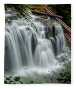 Lower Lewis Falls 2 Fleece Blanket