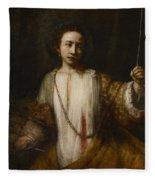 Lucretia Fleece Blanket