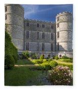 Lulworth Castle Fleece Blanket