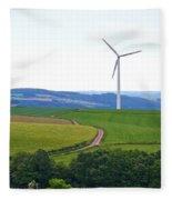 Luxemburg Views Fleece Blanket