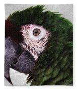 Macaw Fleece Blanket
