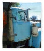 Mack Truck Fleece Blanket