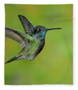 Magnificent Hummingbird Fleece Blanket