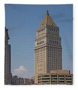 Manhattan Fleece Blanket