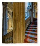 Mansion Stairway Fleece Blanket
