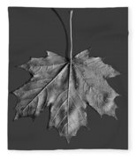 Maple Leaf Fleece Blanket