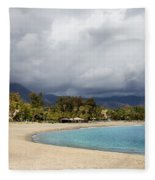 Marbella Beach Fleece Blanket