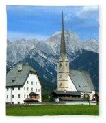 Maria Alm Fleece Blanket