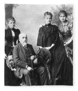 Marie Curie (1867-1934) Fleece Blanket