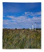 Marjaniemi Lighthouse Fleece Blanket