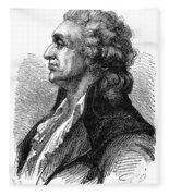 Marquis De Condorcet (1743-1794) Fleece Blanket
