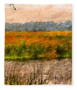 Marsh Land Fleece Blanket