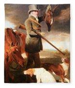 Marshall's J G Shaddick -- The Celebrated Sportsman Fleece Blanket