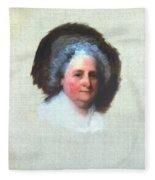 Martha Washington (1731-1802) Fleece Blanket