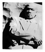 Martin Luther King Memorial Fleece Blanket