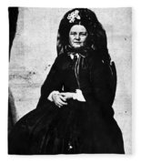 Mary Todd Lincoln (1818-1882) Fleece Blanket