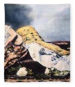 Mata Hari (1876-1917) Fleece Blanket