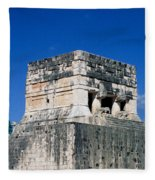 Mayan Ruins Fleece Blanket