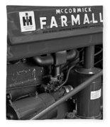 Mc Cormick Farmall Super C Fleece Blanket