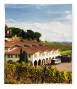 Melini Winery Fleece Blanket