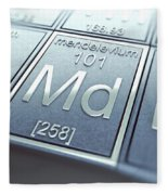 Mendelevium Chemical Element Fleece Blanket
