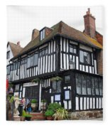 Mermaid Inn Rye Fleece Blanket