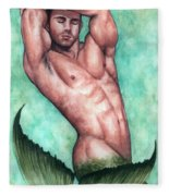 Merman Fleece Blanket