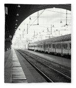 Milan Central Station Fleece Blanket