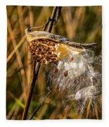 Milkweed Fleece Blanket