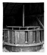 Mill Wheel Fleece Blanket