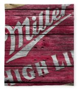Miller High Life Fleece Blanket