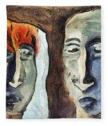 Mirroring - Retrospect Fleece Blanket