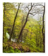 Misty Mountain Fleece Blanket