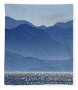 Misty Mountains Fleece Blanket