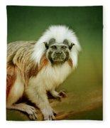 Monkey Fleece Blanket
