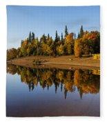 Mont-tremblant National Park Fleece Blanket
