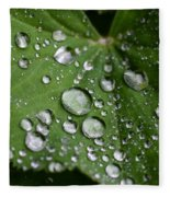 Morning Dew Fleece Blanket