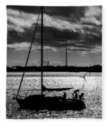 Morning Sail Fleece Blanket