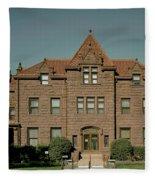 Moss Mansion - Billings Montana Fleece Blanket
