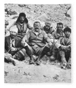 Mount Everest Expedition Fleece Blanket