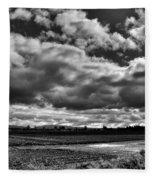Mount Vernon Farmland - Washington State Fleece Blanket