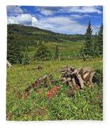 Mountain Meadow  Fleece Blanket