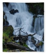 Mountain Waterfall Fleece Blanket