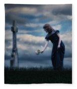 Mourning Fleece Blanket