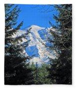Mt. Rainier I Fleece Blanket