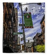 Mulberry St - Nyc Fleece Blanket
