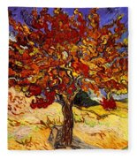 Mulberry Tree Fleece Blanket