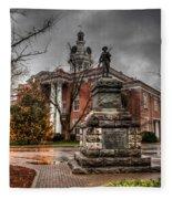 Murfreesboro Town Hall Fleece Blanket